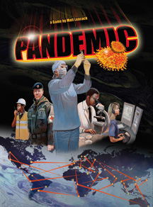 Pandemic. Image source: Z-Man Games