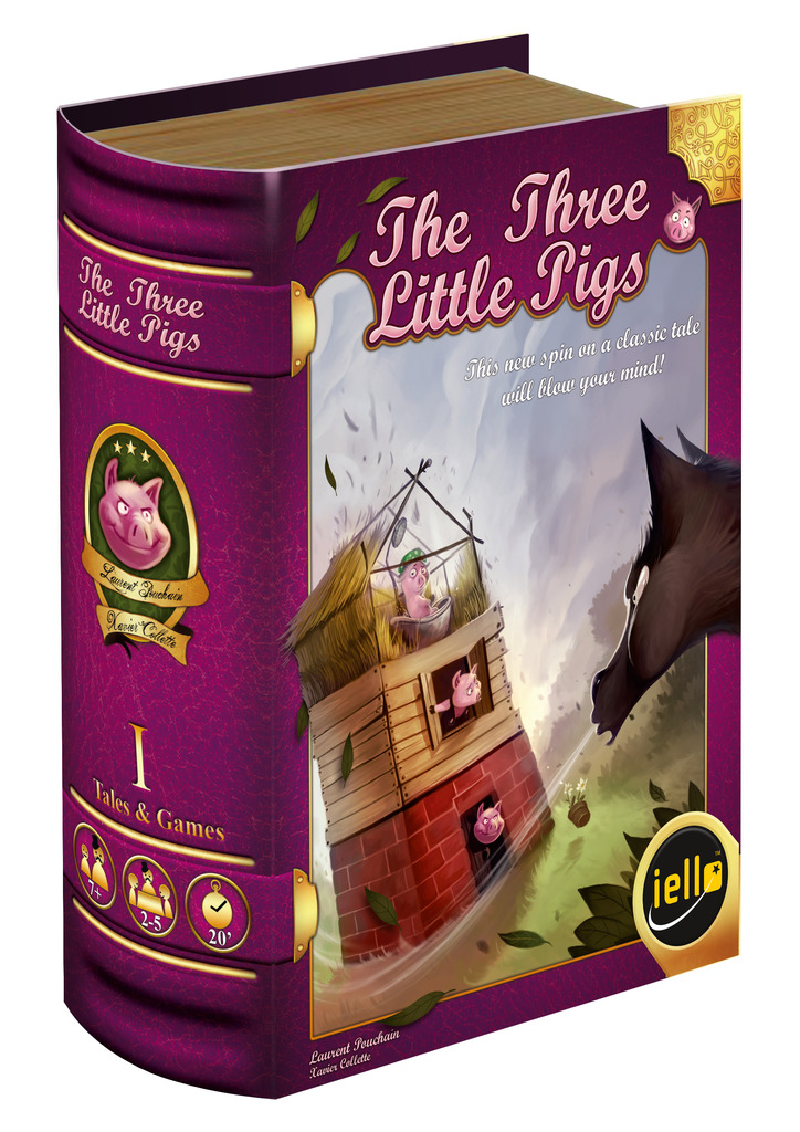 Three Little Pigs. Image source: publisher